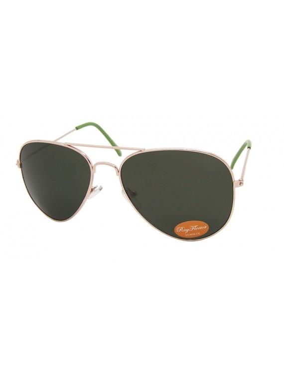Dixa Coloured Lens Aviator Sunglasses, 5 Colors Asst(Bigger Size)