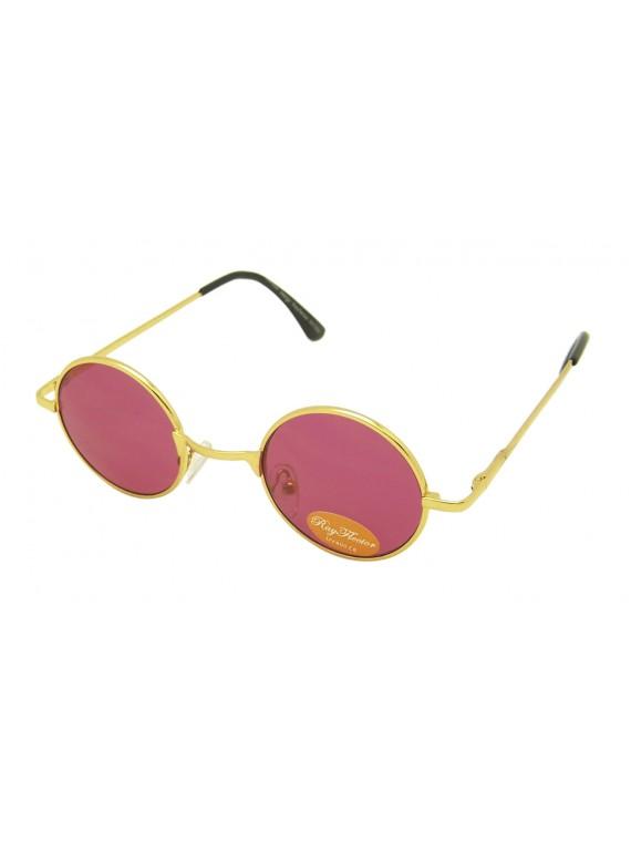 Vinna Retro Small Frame John Lennon Style Sunglasses, Asst