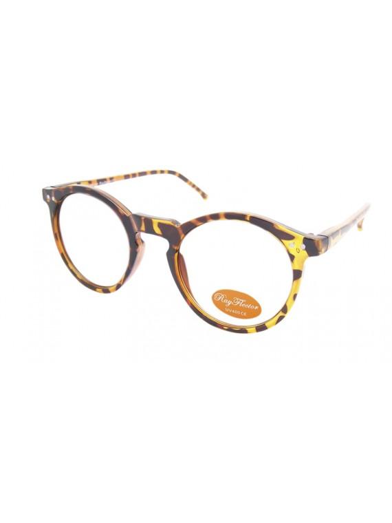 Fiona Universal Comfy Fit  Sunglasses, 2 Colors Clear Lens Asst