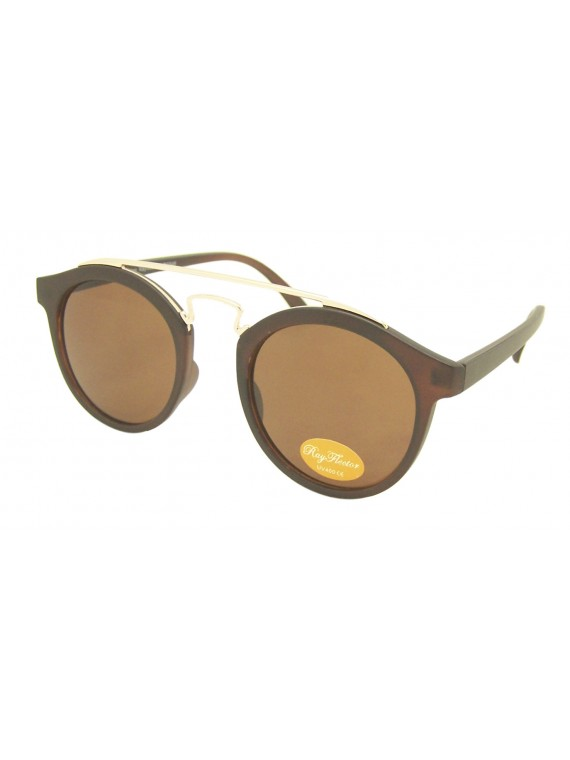 Dozie Brandy Round Sunglasses, Normal Lens Asst