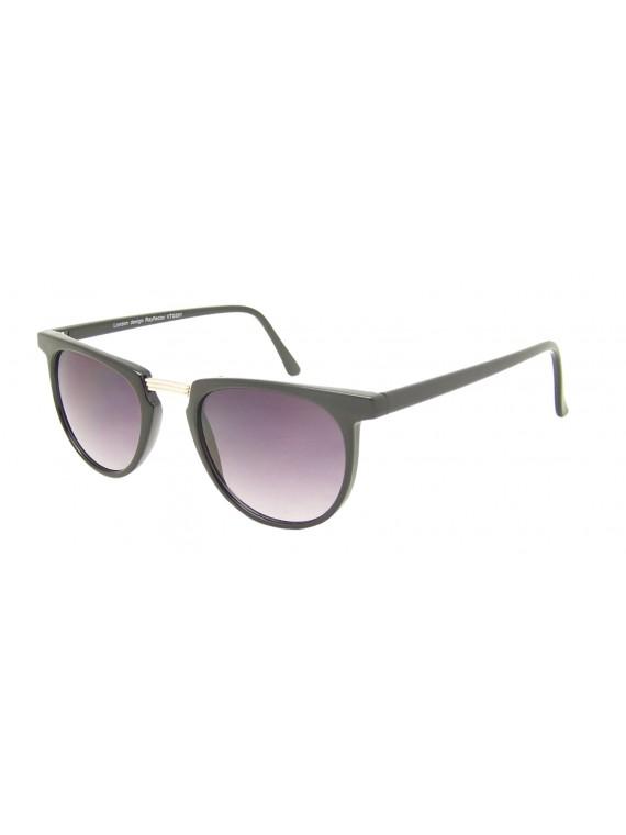 Liheo Flat top Metal Bridge Sunglasses, Asst