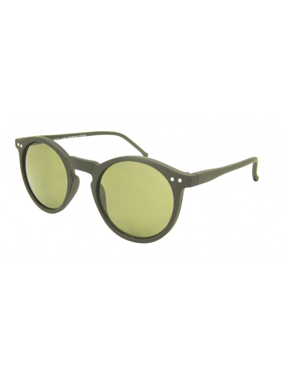 Oroze Round Lens With Metal Spots Vintage Sunglasses, Asst
