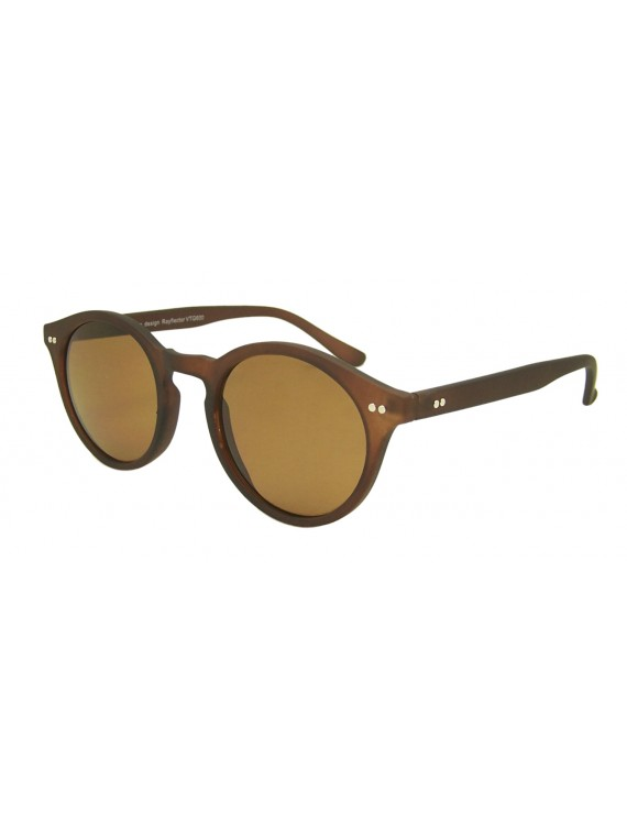 Husie Round Trendy Sunglasses, Normal Lens Asst