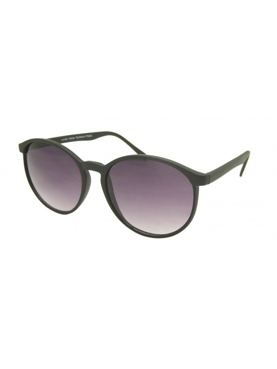 Elis Round Slim Frame Sunglasses, Normal Lens Asst