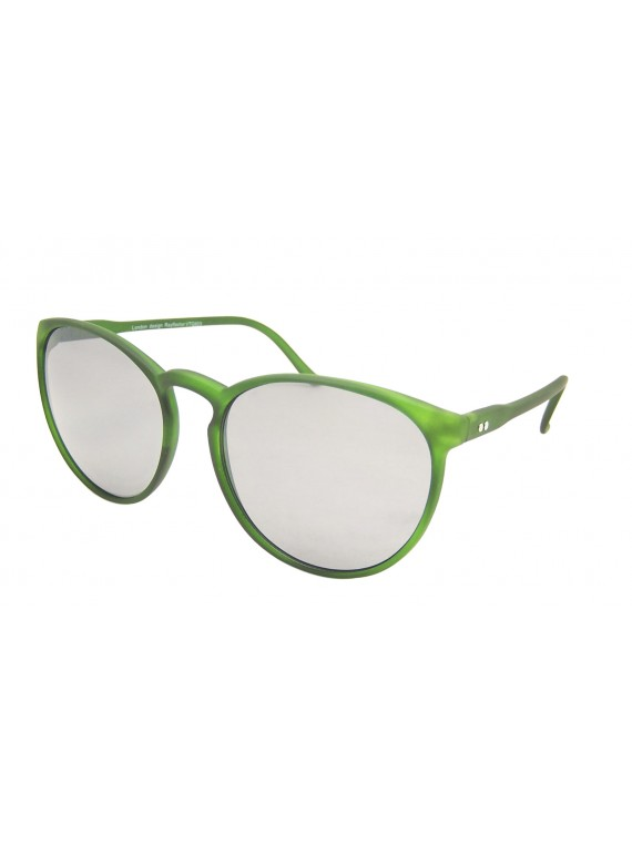 Mimori Round Oversized Sunglasses, Normal Lens Asst