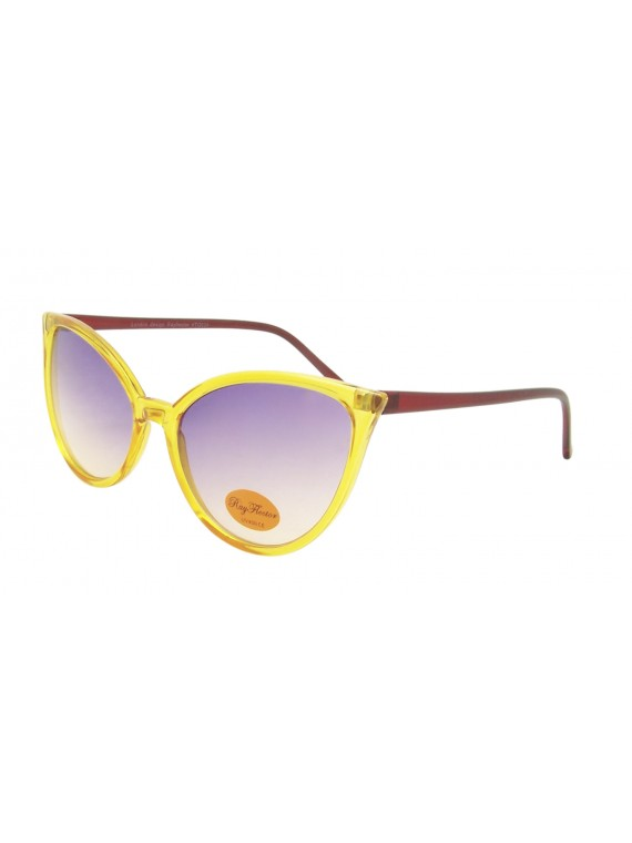 Chalix Oversized Cat Eye Pastel Color Sunglasses, Asst