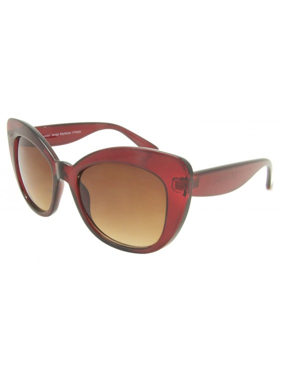 Esme Classic Oversized Cat Eye Sunglasses, Asst