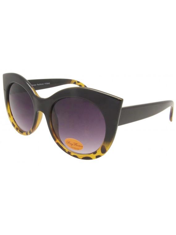 Lydia Classic Oversized Retro Sunglasses, Asst