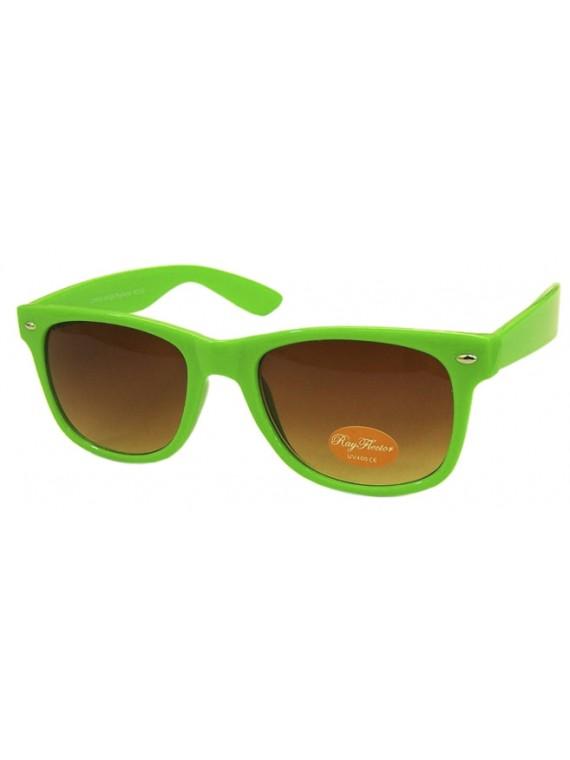 Classic Modern Wayfarer Style Sunglasses, Assorted Colours Set 1