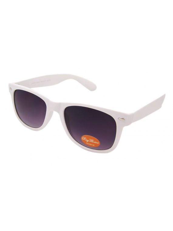 Classic Modern Wayfarer Style Sunglasses, Rubber Matt Asst