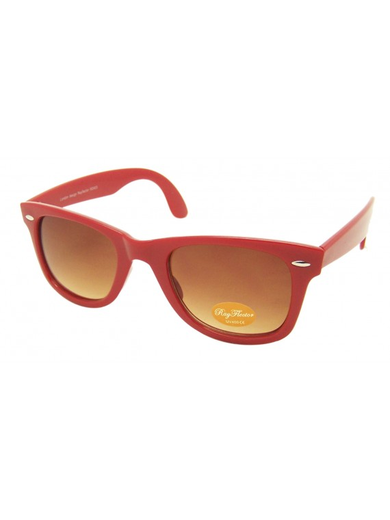 Meria Colorful Frame Wayfarer Style Sunglasses, Asst
