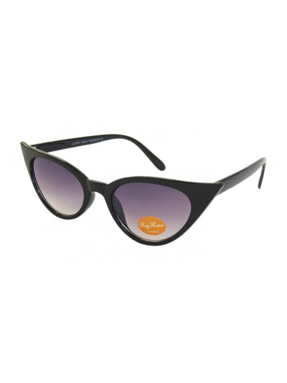 Urbum Happy Cat Eye Sunglasses, Black
