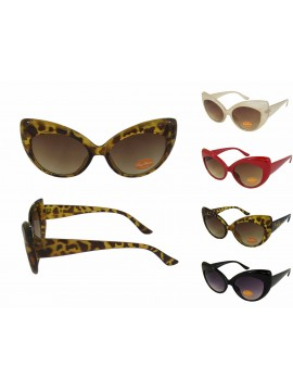 Chekee Cat Eye Sunglasses, Asst