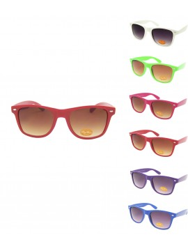 Medium Size Wayfarer Style Colourful Sunglasses, asst