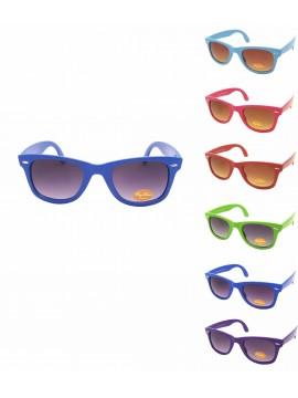 b29aad775ee5 Meria Colorful Frame Wayfarer Style Sunglasses