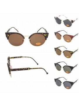 Torre 1950s Vintage Design Sunglasses, Asst