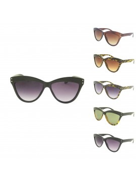 Dustin Top Thick Frame With 2 Bits Sunglasses, Asst