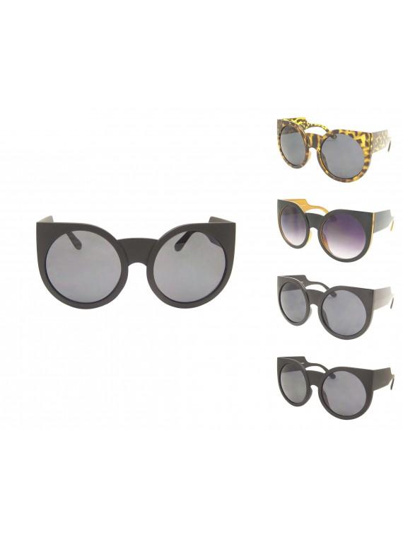 Kersmin Oversized Round Sunglasses, Asst