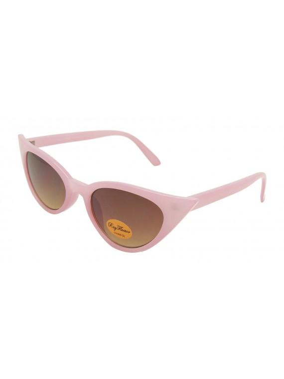 Urbum Happy Cat Eye Sunglasses, Pink