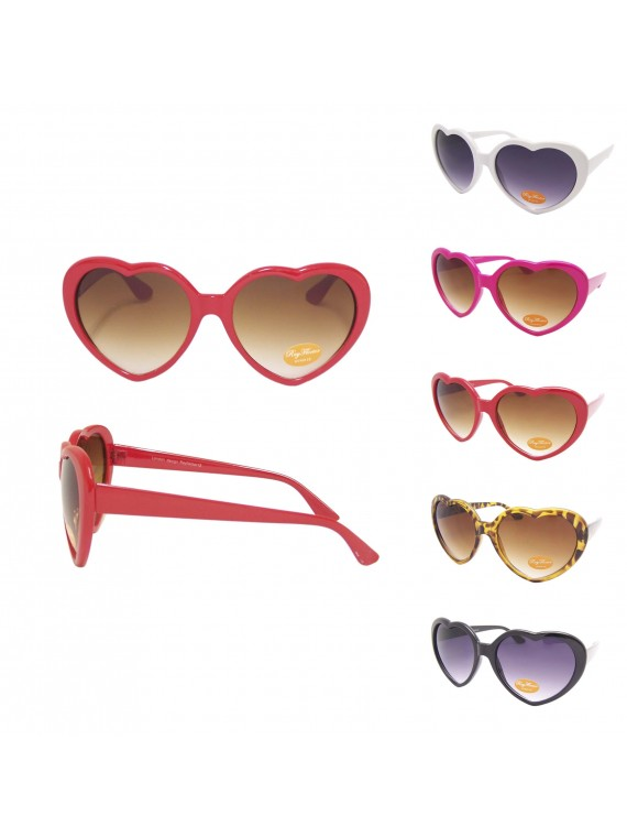 Heart Sunglasses, Asst