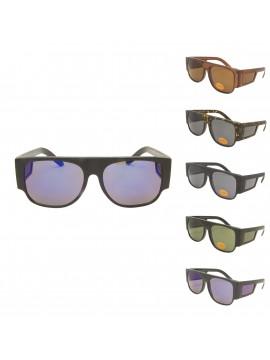 Orla Classic Thick Arm Warp Around Sunglasses, Asst