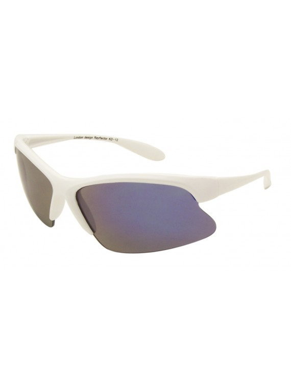 Kidi Leon Wrap Around Sport Sunglasses, Kids Mirrrored Lens Asst
