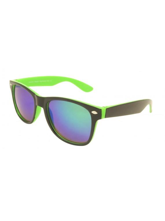 Kidi Movii Wayfarer Style Sunglasses, Kids MIrrored Lens Asst