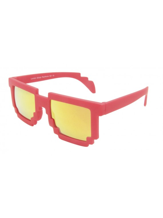 Kidi Charmo Wave Shape Sunglasses, Kids Mirrorred Lens Asst