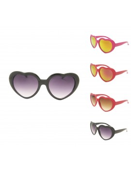 Kidi Heart Shape Sunglasses, Kids Asst