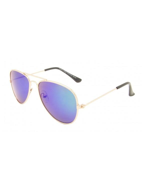 Kidi Billy Aviator Sunglasses, Kids Mirrored Lens Asst