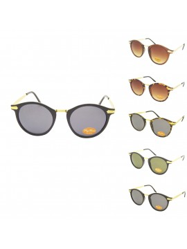 Emelia Vintage Remade Sunglasses, Normal Lens Asst