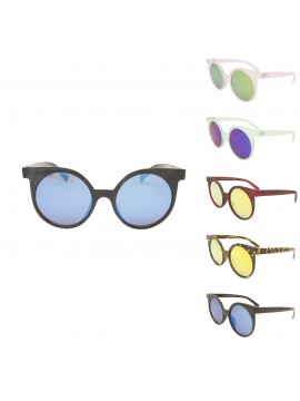 Posei Vintage Remade Round Sunglasses, Asst