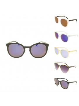 Hubio Retro Round Plastic Sunglasses, Asst