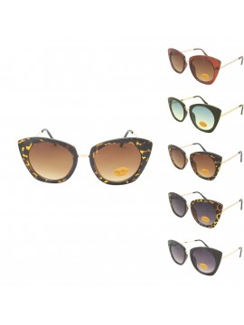 Tibetan Oversized Cat Eye Style Sunglasses, Asst