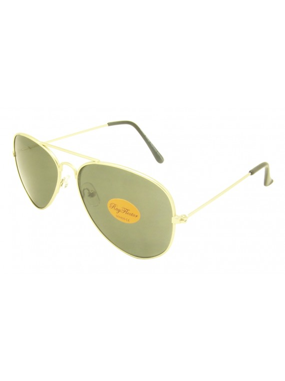 Chisvo Retro Aviator Sunglasses, Asst
