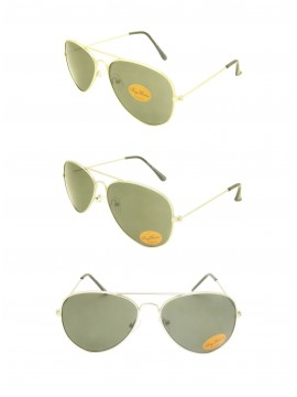 Chisvo Retro Aviator Sunglasses, Asst