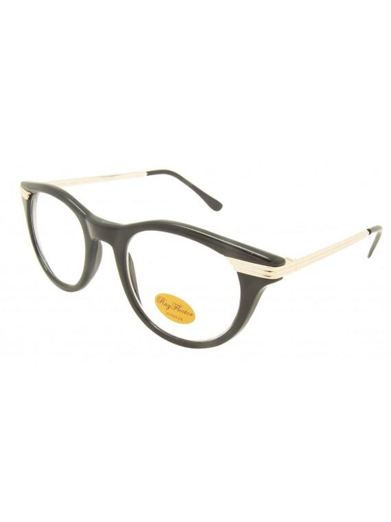 Diana Retro Remade Metal Arm Sunglasses, Clear Lens Asst