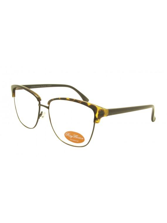 Sovia Vintage Remade Sunglasses, Clear Lens Asst