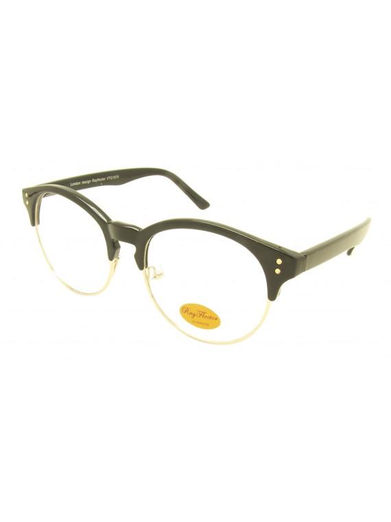 Eroka Vintage Sunglasses, Clear Lens Asst