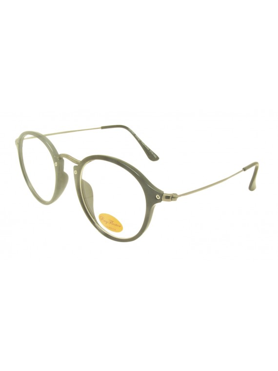Bayia Vintage Remade Sunglasses, Clear Lens Asst