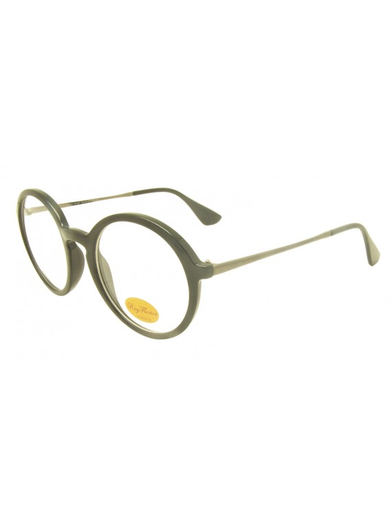 Mora Vintage Sunglasses, Clear Lens Asst