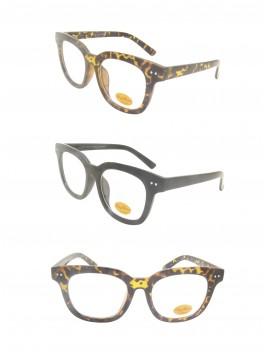 Zeria Vintage Remade Sunglasses, Clear Lens Asst