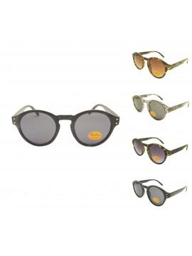 Bretu Vintage Round Sunglasses, Asst