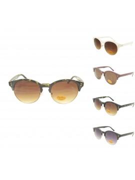 Sofia Vintage Round Sunglasses, Asst