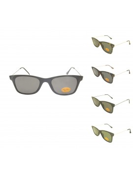 Liway Metal Arms Fashion Sunglasses, Asst