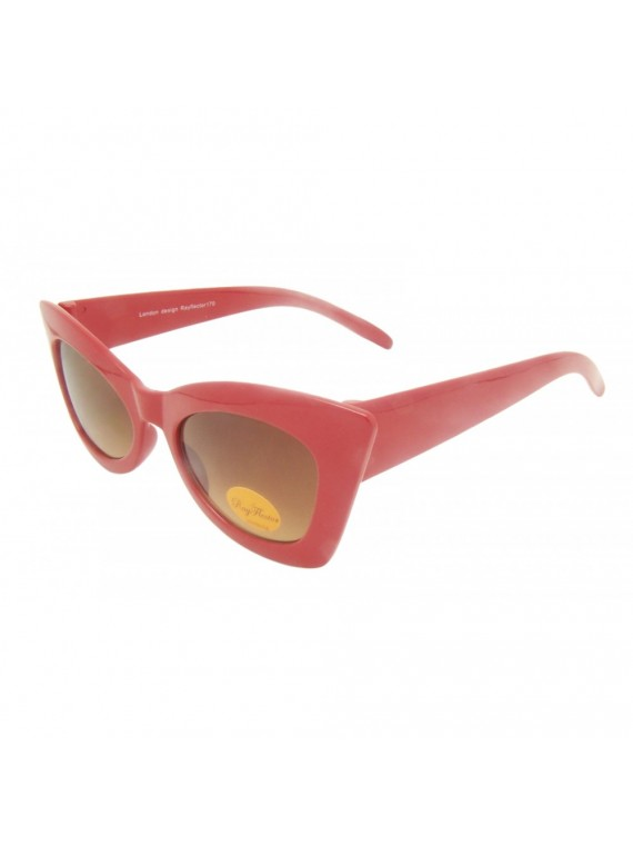Jasy Cat Eye Styles Sunglasses, Red