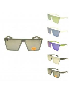 Zri Square Shape Vintage Sunglasses, Asst