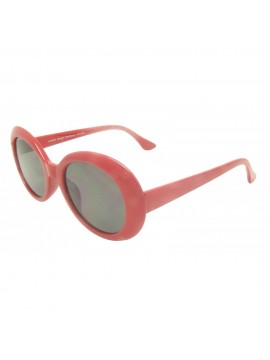 Kurt Corbain Fashion Vintage Sunglasses, Red