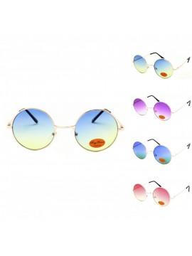 Remo Vintage Round Sunglasses, Asst