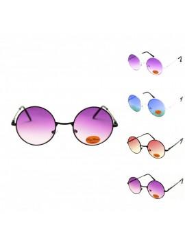 Goi Vintage Round Sunglasses, Asst